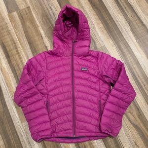 Patagonia Puffer Jacket Purple Women's Coat Small